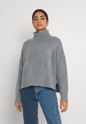NMIAN ROLL NECK  - Jumper - mottled grey