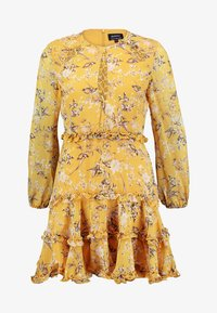 Bardot - JENNIE FLORAL DRESS - Denní šaty - yellow - 5