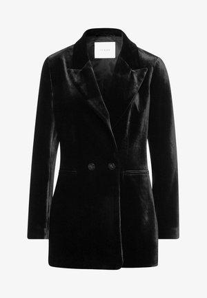 DOPPELTER KNOPFLEISTE - Short coat - black