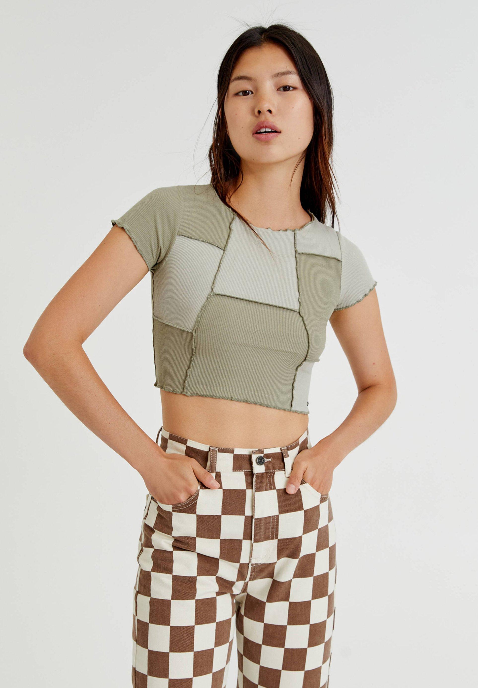 Damen ZIERNÄHTEN - T-Shirt print