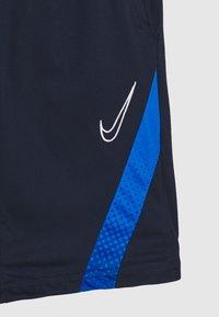 Nike Performance - DRY ACADEMY SHORT - Krótkie spodenki sportowe - obsidian/soar/white - 3