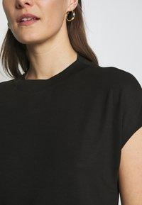Esprit Collection - FLOW - Basic T-shirt - black - 4
