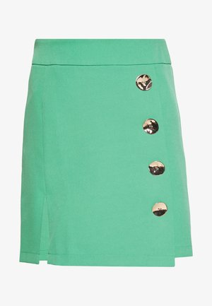 IVY SKIRT - Minifalda - green