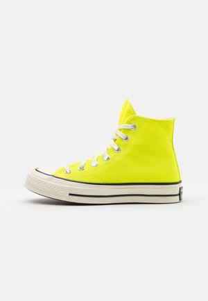 CHUCK TAYLOR ALL STAR 70 UNISEX - Sneakersy wysokie - lemon/egret/black