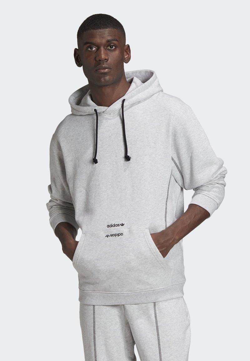 adidas Originals - HOODIE - Hoodie - grey