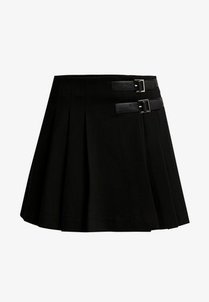 YOUNG LADIES SKIRT - Zavinovací sukně - black
