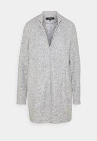 Vero Moda Tall - VMBRUSHEDKATRINE - Manteau classique - light grey melange - 0