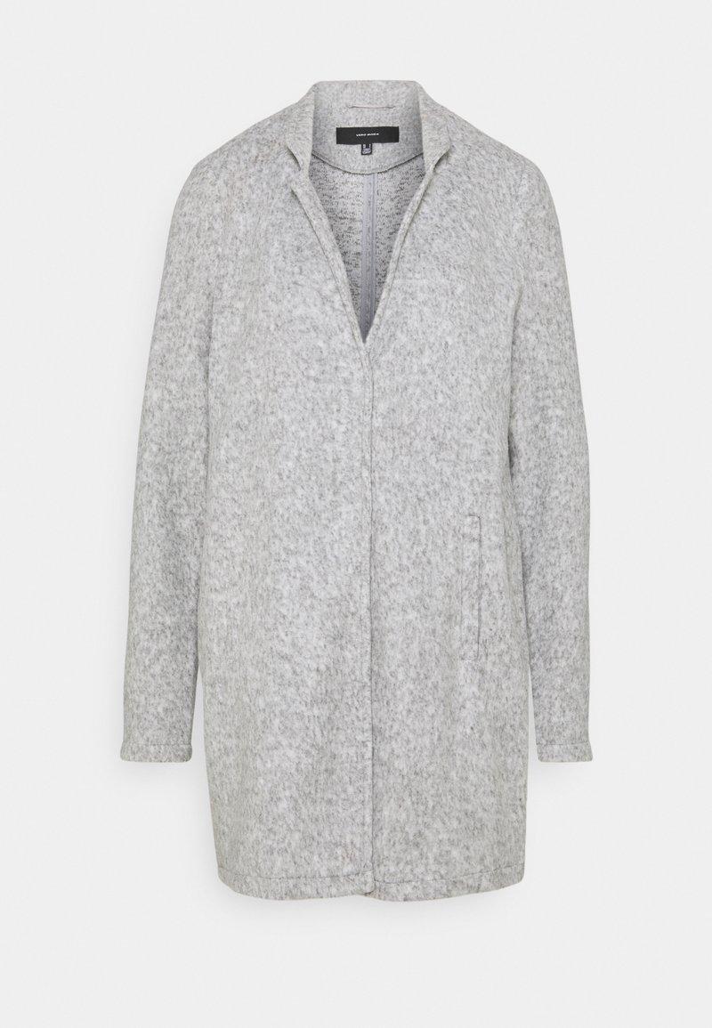 Vero Moda Tall - VMBRUSHEDKATRINE - Manteau classique - light grey melange