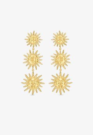 THREE SUNS EARRINGS - Oorbellen - gold