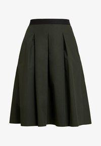 Opus - REJANA - A-snit nederdel/ A-formede nederdele - oliv green - 3