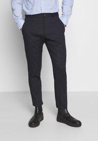 Esprit Collection - MATTE MIX - Oblek - dark blue - 4