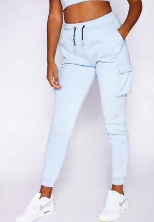 Pantalones cargo - powder blue