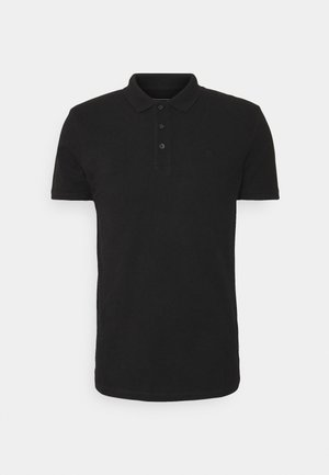 WITH CHEST ARTWORK - Polo - black