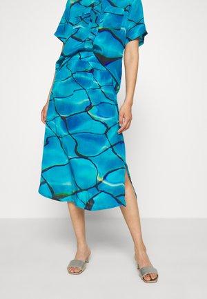 RICCI SKIRT - A-snit nederdel/ A-formede nederdele - blue/black