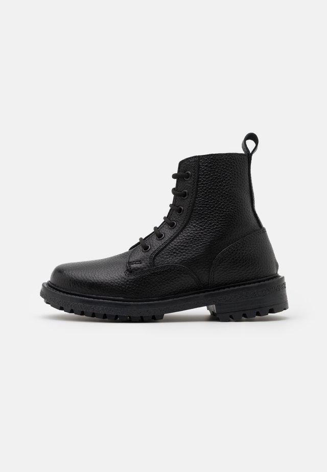 GUZO UNISEX - Bottines à lacets - black