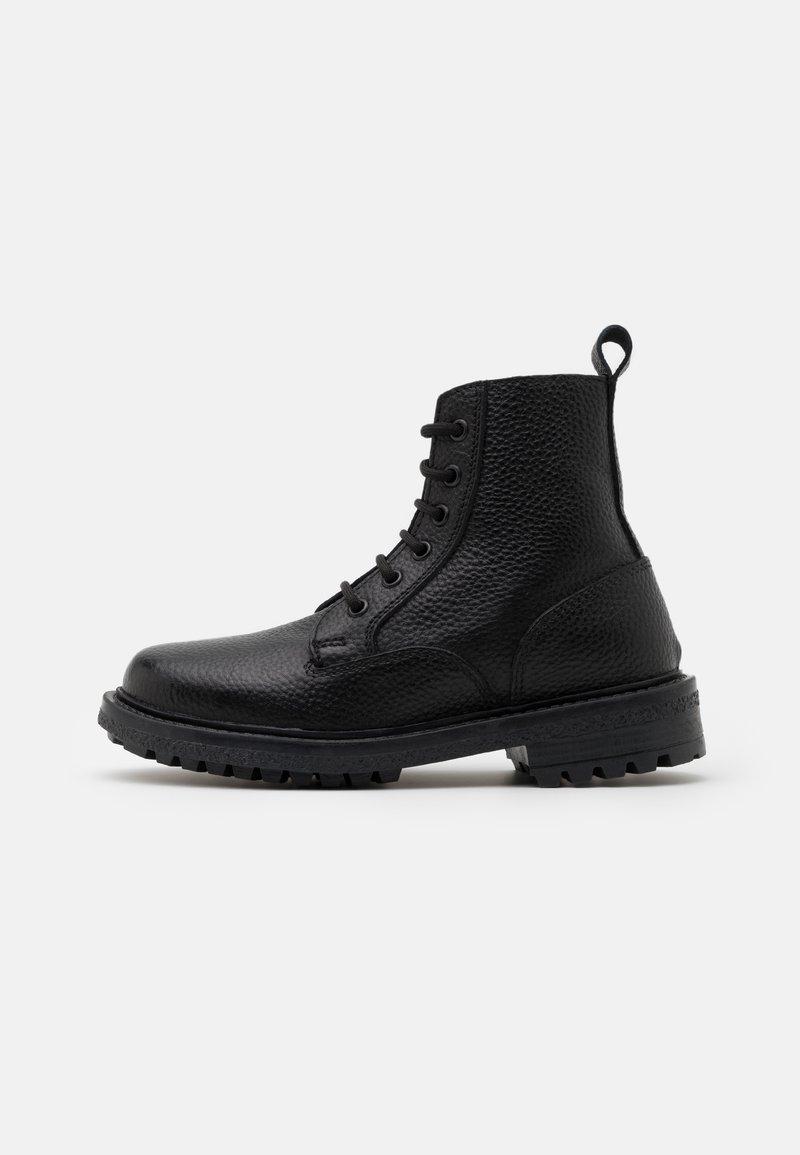 DECHASE - GUZO UNISEX - Lace-up ankle boots - black