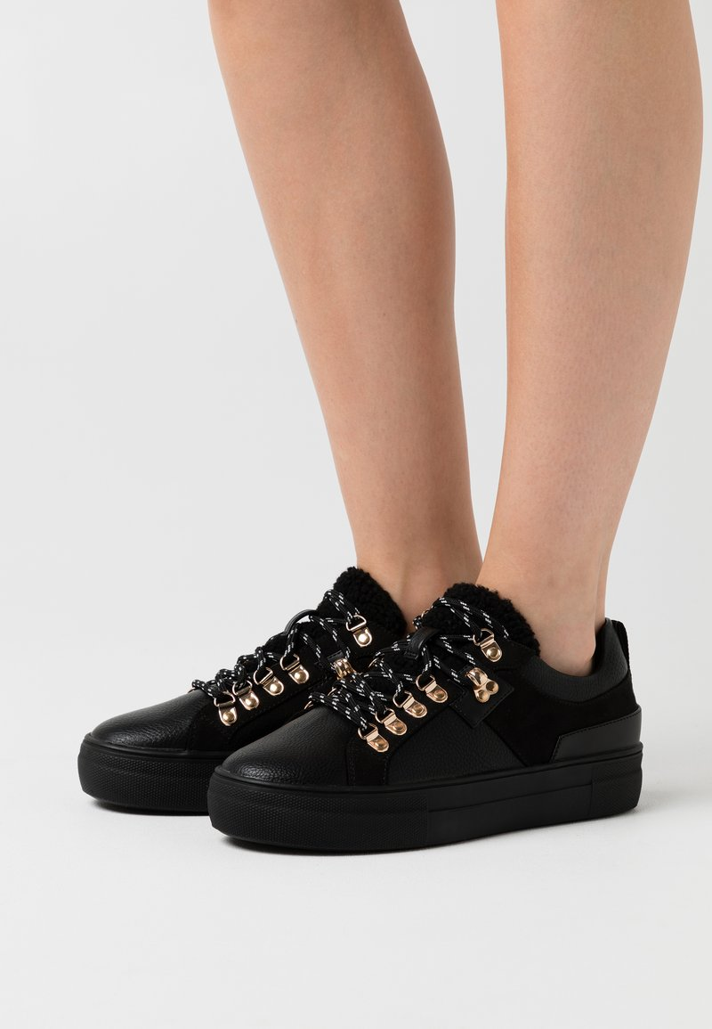 ONLY SHOES - ONLSTELLA  - Sneakers laag - black