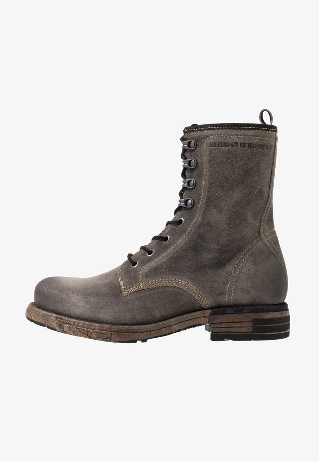 UTAH - Lace-up ankle boots - grey
