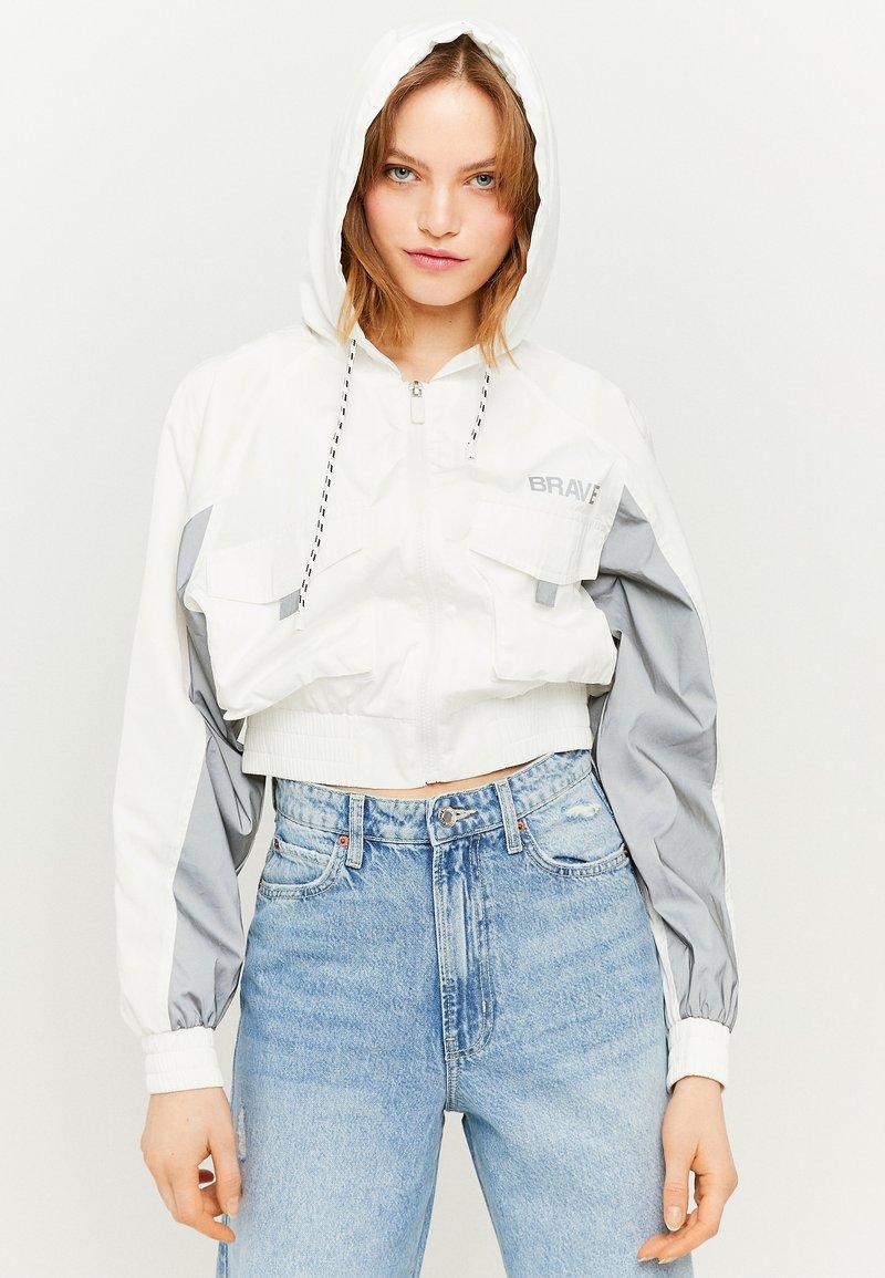 TALLY WEiJL - REFLEKTIERENDE - Outdoor jacket - white