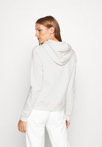 Abercrombie & Fitch - LONG LIFE FULL ZIP - Hettejakke - white - 2