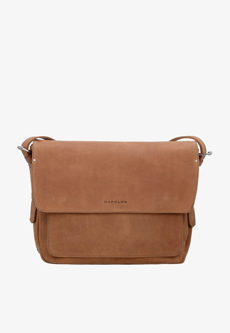 Harold's - IVY KURIER LAPTOPFACH - Across body bag - natur
