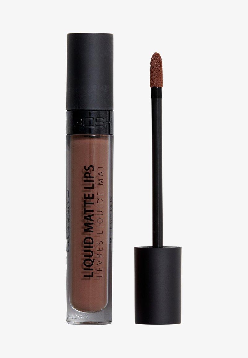 Gosh Copenhagen - Liquid Matte Lips - Liquid lipstick - 011 go naked