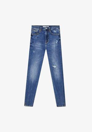 Jeans Skinny Fit - light-blue denim
