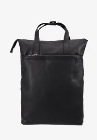 Zign - UNISEX LEATHER - Rucksack - black - 6