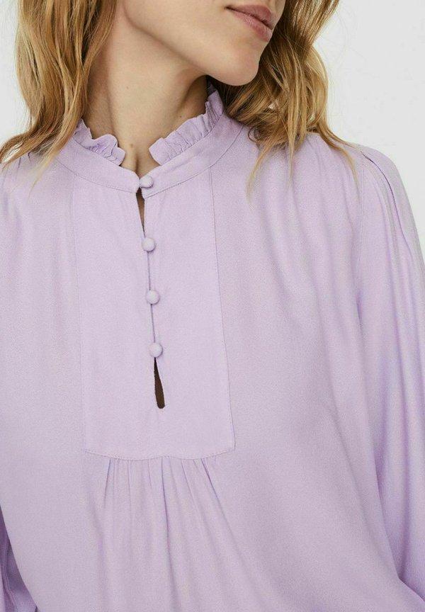 Vero Moda VMNEELA - Bluzka - pastel lilac/liliowy DZUG