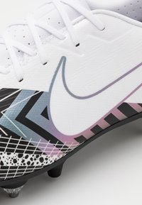 Nike Performance - MERCURIAL VAPOR 13 ACADEMY MDS SG-PRO AC - Screw-in stud football boots - white/black - 5