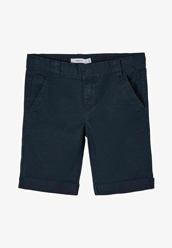 Denim shorts - dark sapphire