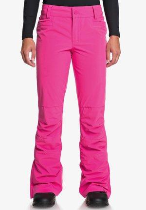 CREEK  - Snow pants - beetroot pink
