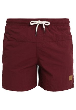 BLOCK - Swimming shorts - cherry
