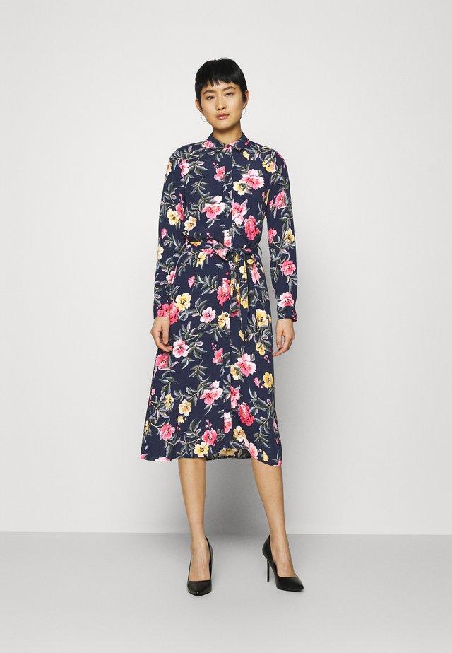 AURELIE - Robe chemise - blue floral