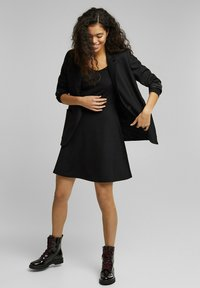 edc by Esprit - PUNTI  - Day dress - black - 1