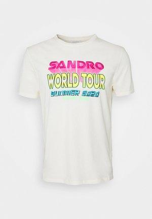 T-shirt print - coquille