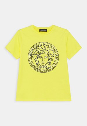 SHORT SLEEVES UNITED MEDUSA UNISEX - Print T-shirt - yellow/bluette