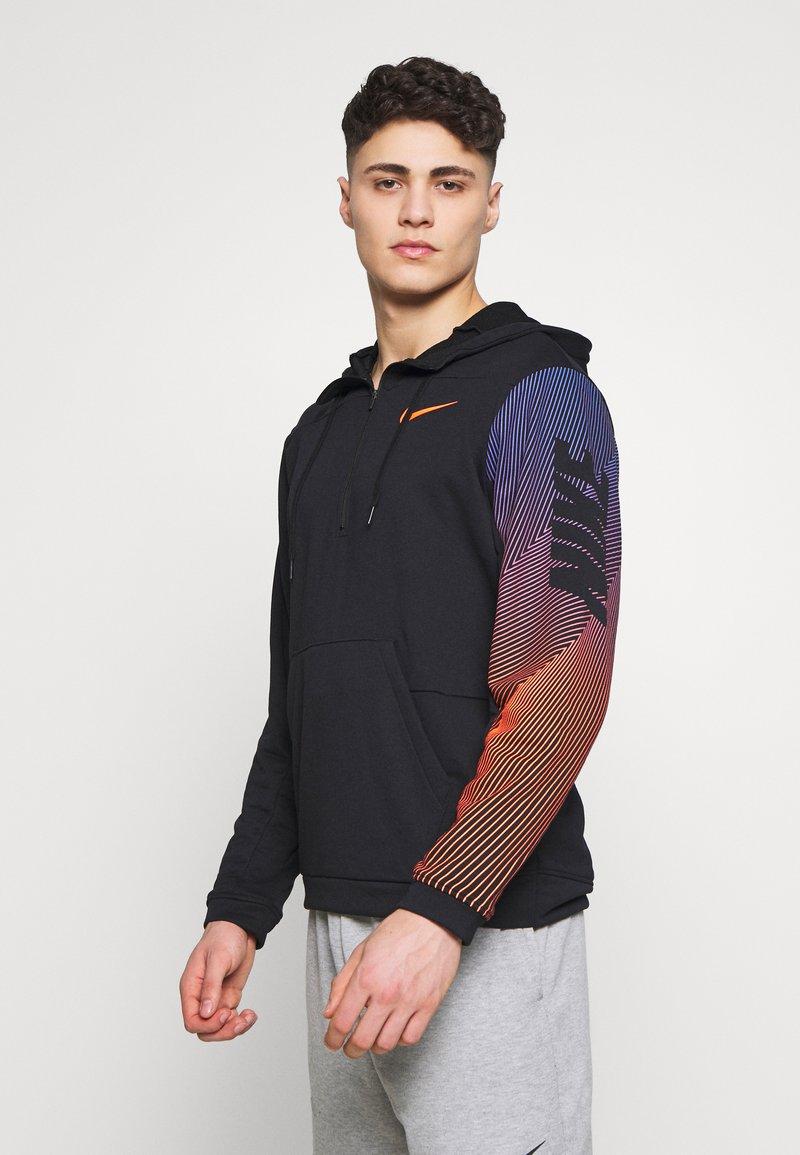 Nike Performance - DRY HOODIE - Luvtröja - black
