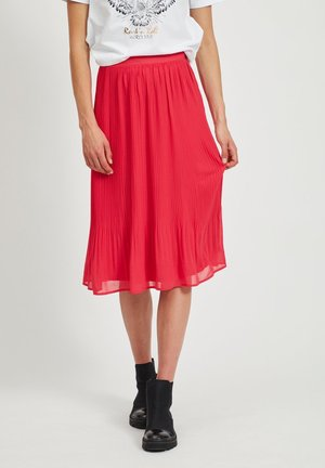 A-line skirt - barberry
