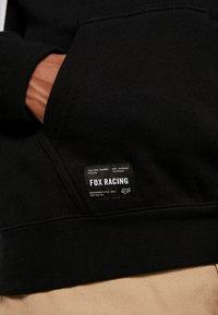 Fox Racing - STREET LEGAL - Hoodie - black - 4