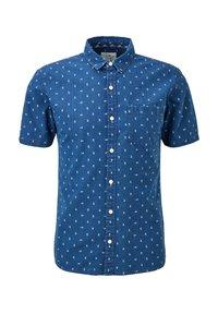 QS by s.Oliver - EXTRA SLIM - Shirt - blue aop - 6
