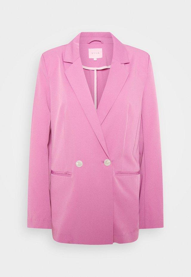 VISALLY  - Blazer - diva pink