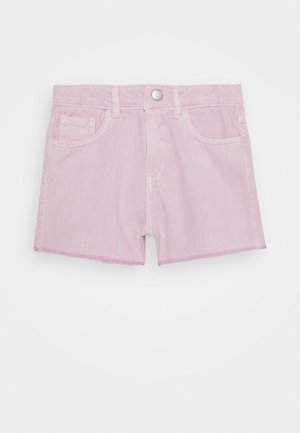 NKFRANDI MOM TWIIZZA CAMP - Denim shorts - cradle pink
