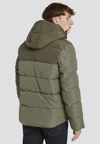 TOM TAILOR DENIM - Winter jacket - tree moss green - 1