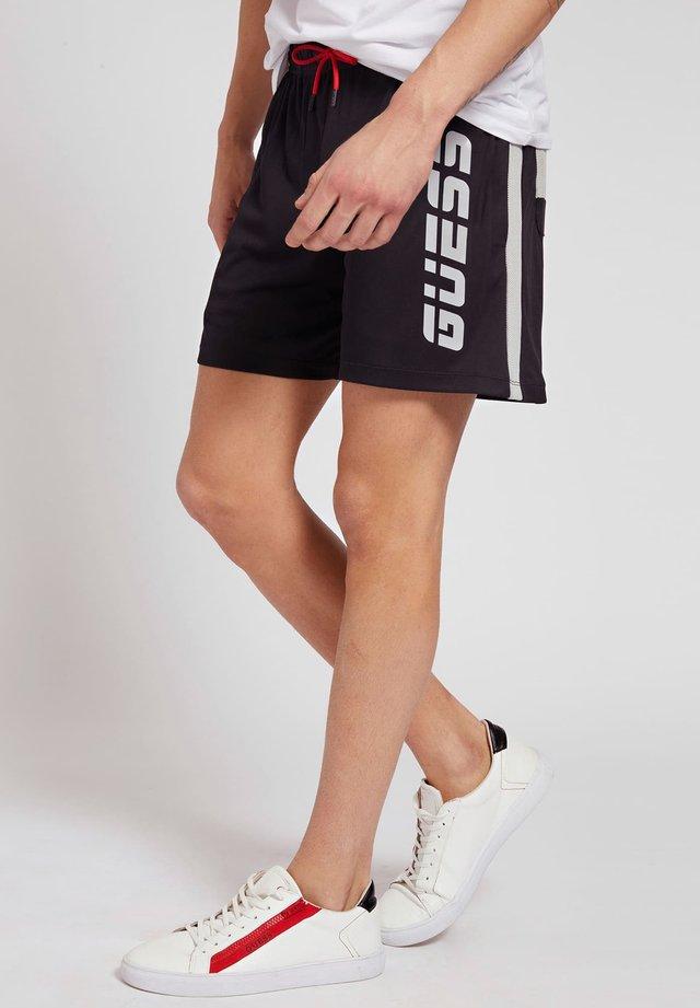 MIKROFASER - Short de sport - schwarz