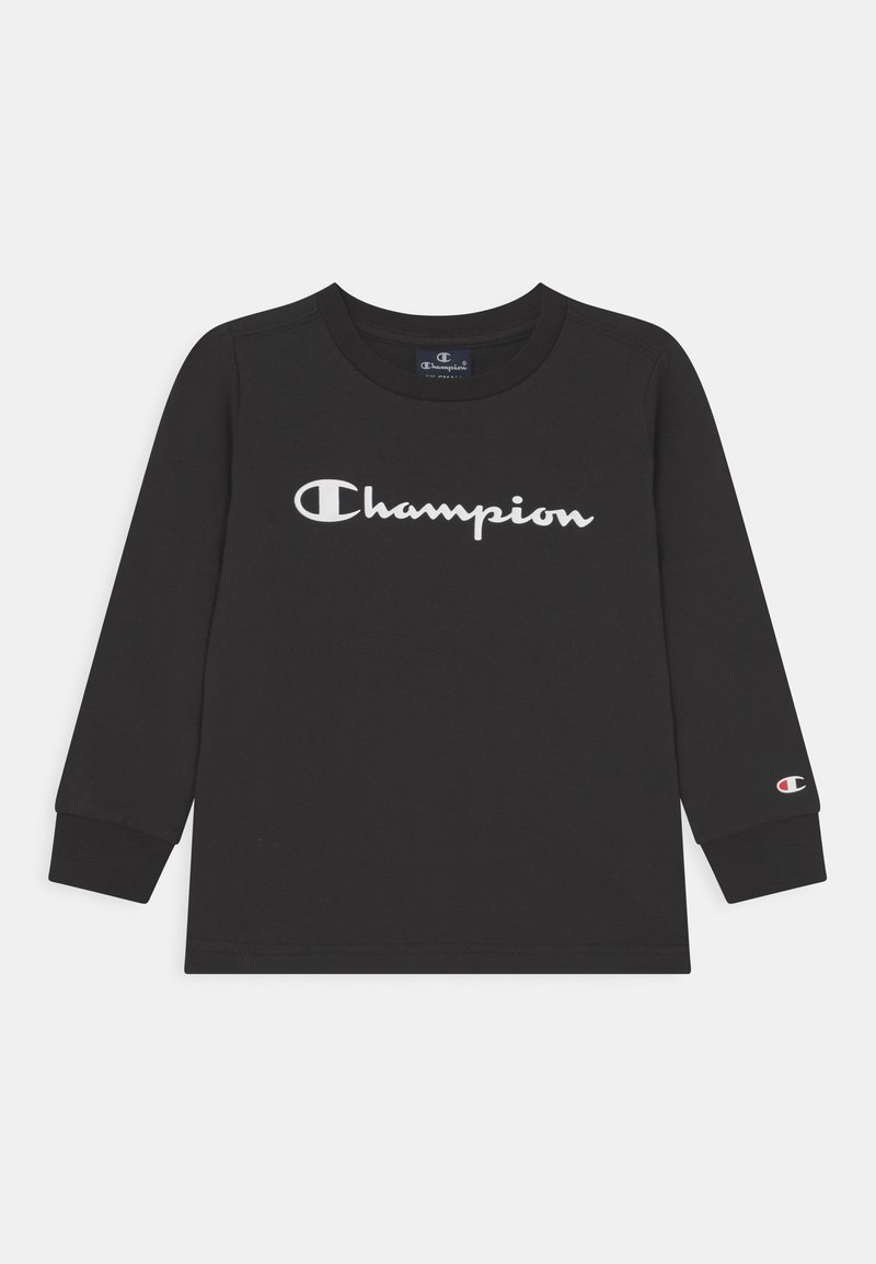 Champion - AMERICAN CLASSICS LONG SLEEVE UNISEX - Langarmshirt - black
