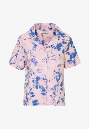 ACID HOUSE - Button-down blouse - flamingo blue