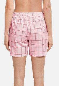 Schiesser - Pyjama bottoms - rosa gemustert - 1