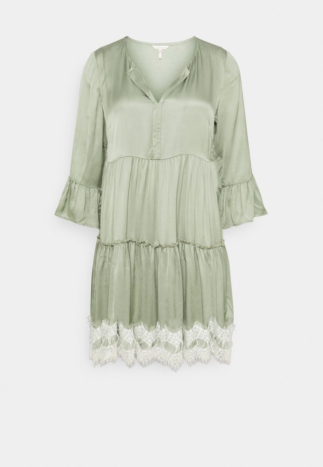 DRESS - Korte jurk - light green