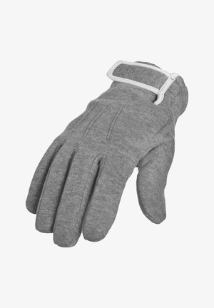 Gloves - gry/wht